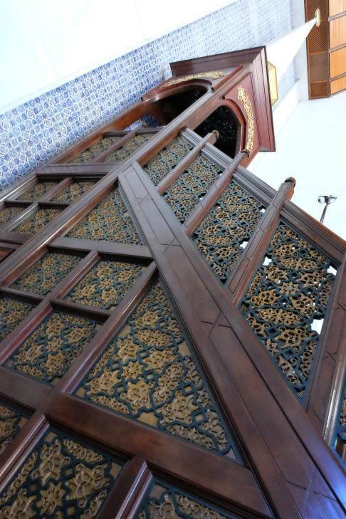 Blue Mosque Mimbar