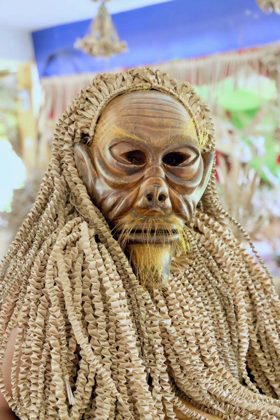 Mah Meri Masked Man