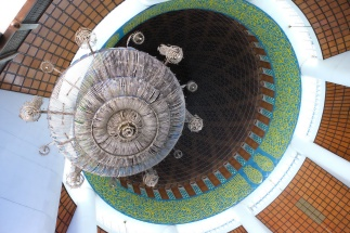 Mosque - interior of dome