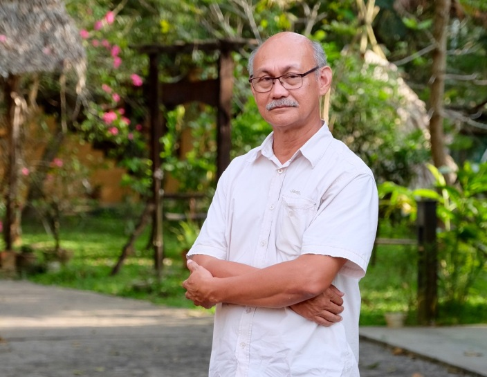 Rashid Esa, Director of the Mah Meri Cultural Village on Malaysia's Carey Island