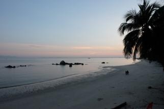 A tranquil Penang beach