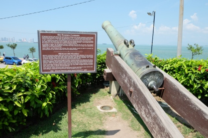 Sri Rambai Cannon at Fort Cornwallis, George Town, Penang