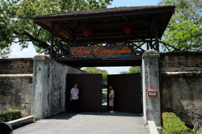 Fort Cornwallis entrance