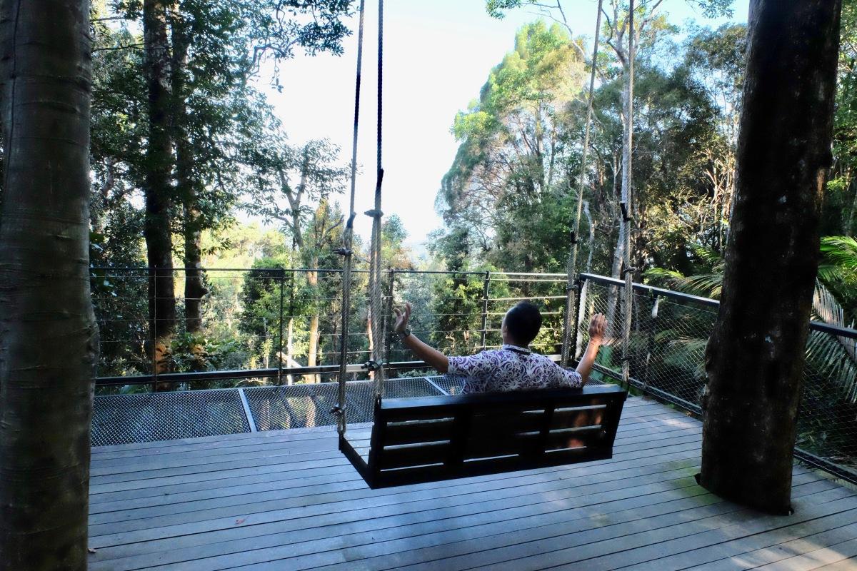 Giant swing the Habitat