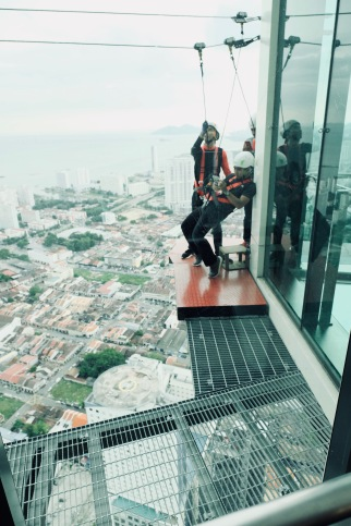 """The Gravityz"" experience, at The Top, KOMTAR, George Town, Penang"