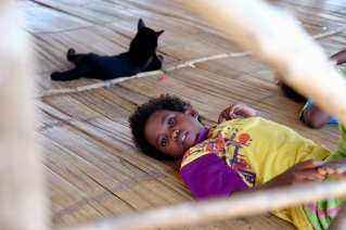 Orang Asli child