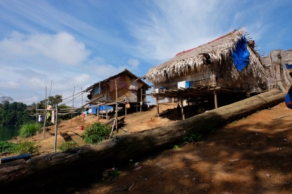 Orang Asli village in Royal Belum