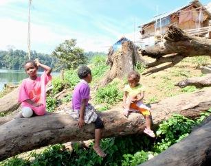 Orang Asli children