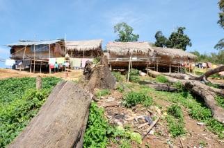 Orang Asli village in Royal Belum State Park