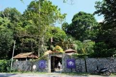 Tropical Spice Garden entrance