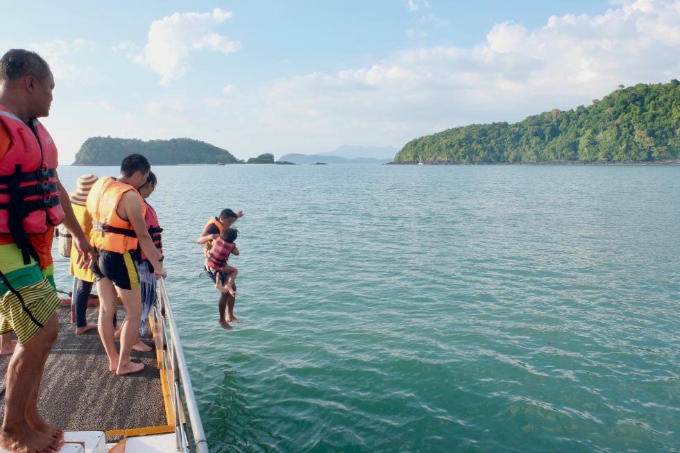 Family fun on a Langkawi sunset cruise