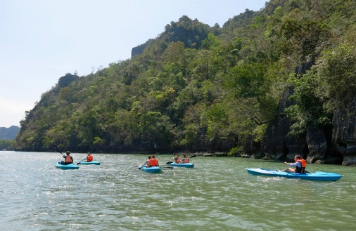 Kayaking in Langkawi_2
