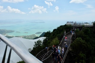 Langkawi viewpoint near Skybridge