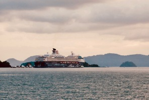 Cruise ship Mein Schiff in Langkawi