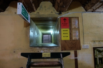 Barracks and tunnel at Penang War Museum