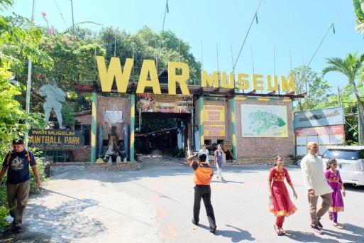 Entrance to Penang War Museum