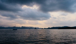 View from Seasation Sunset Cruise in Langkawi