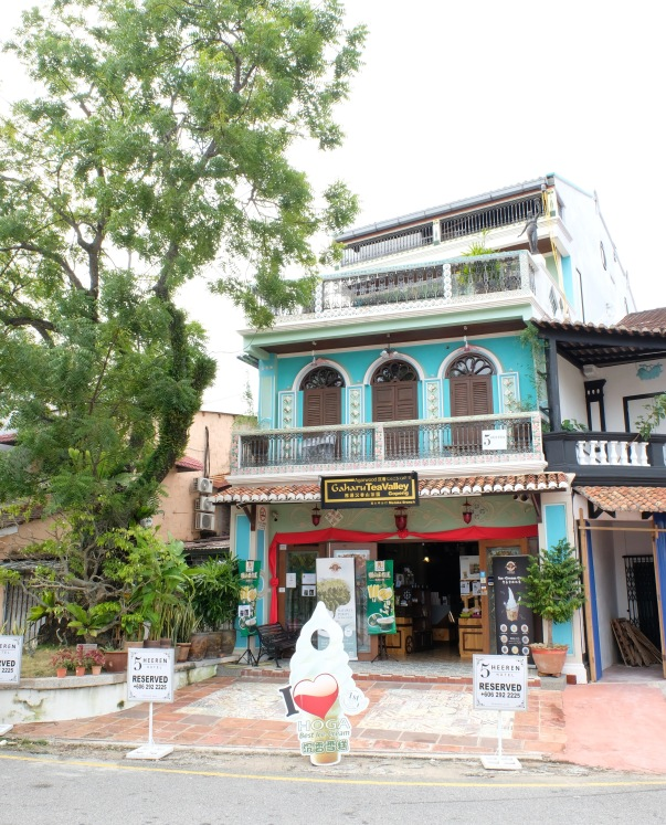 Typical shophouse in Malacca