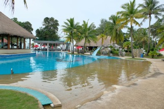"Pool ""beach"" at Sand & Sandals Resort – Desaru Coast"