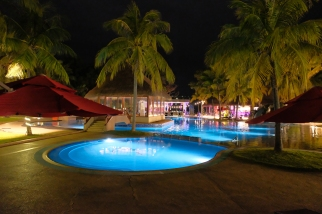 Pool at night - Sand & Sandals Resort – Desaru Coast