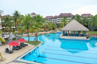 Pool at Sand & Sandals Resort – Desaru Coast