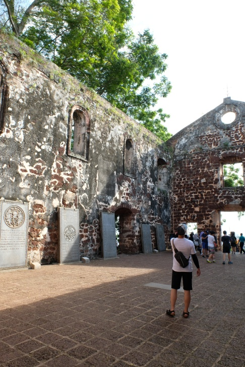 St Pauls Church, Malacca