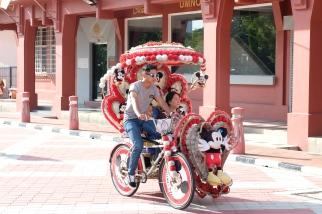 Trishaw in Malacca