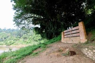 Park entrance - Taman Negara