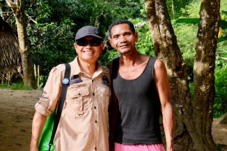 Official guide - Azhar - with Orang Asli Chief
