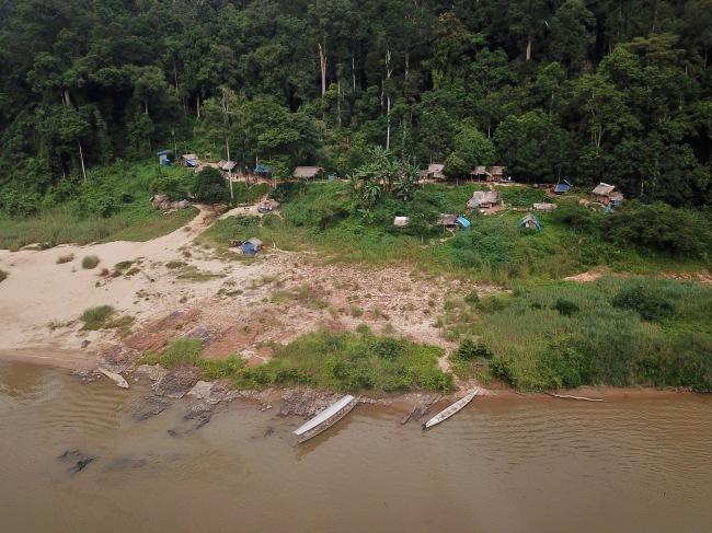 Taman Negara Orang Asli Resort - drone's eye view