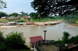 View of river from Mutiara Taman Negara resort