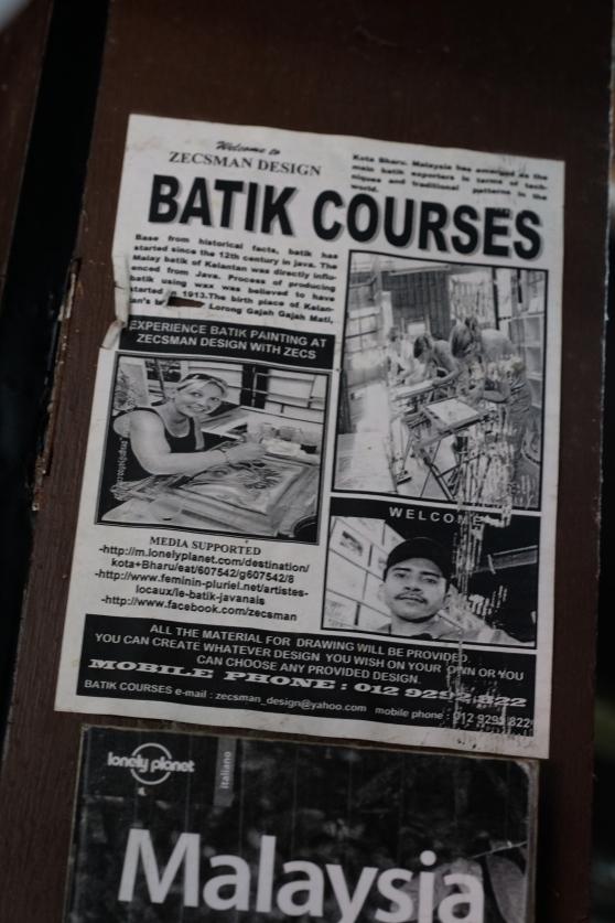 About Batik Courses
