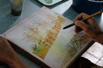 Batik course in KB craft centre