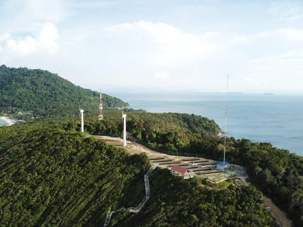 Failed energy project - Perhentian