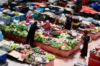 Kota Bharu Market Scene