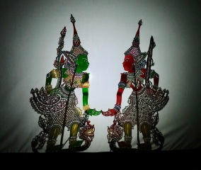 Malaysian shadow puppets