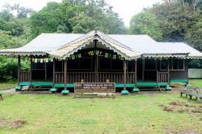 Environmental education centre at Bako National Park