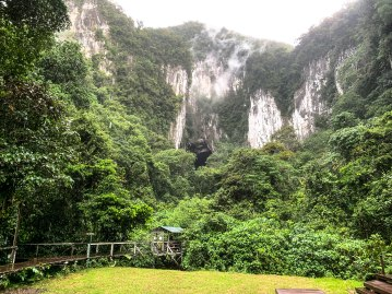 Deer cave entrance - Mulu