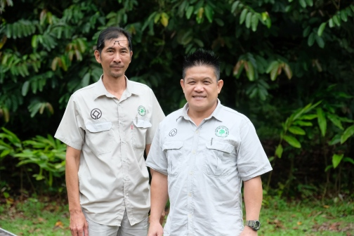Jeffrey Simun - Operation Manager and Bian Rumei - Tourism Services Manager - Mulu National Park