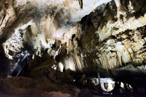 Limestone formations - Mulu caves - Sarawak