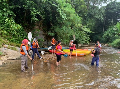 Semadang Kayak - training session