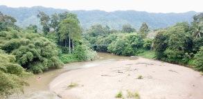 Sarawak Kayaking - drone view