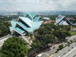 Aerial view - Istana Budaya