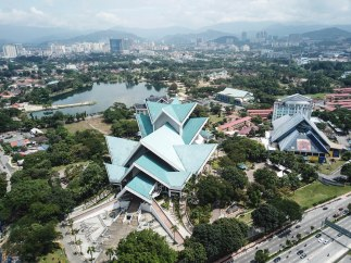 Aerial view - Istana Budara