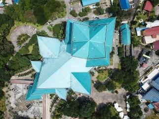 Istana Budaya drone view