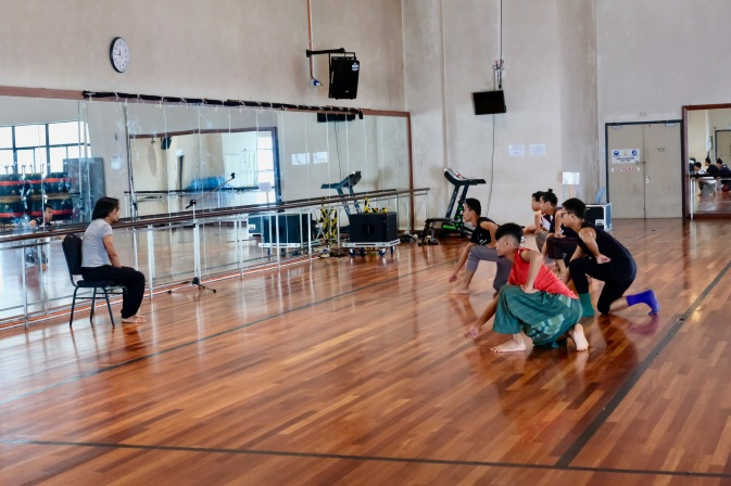 In-house dancer training at Istana Budaya