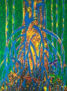Ron Galimam - ARA the Strangler Fig, Batik
