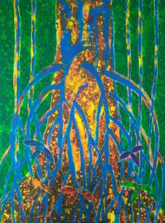 Ron Galimam - ARA the Strangler Fig, Batik