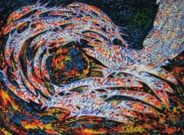 Ron Galimam - Eye of Barracuda Batik