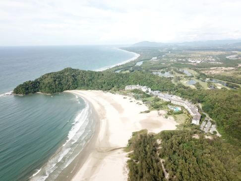 Rasa Ria resort and beach